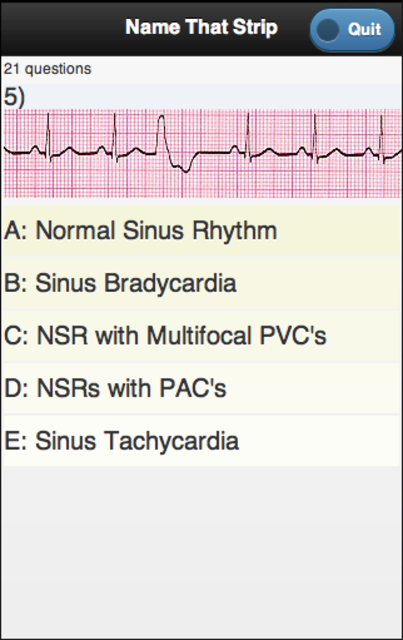 ECG Academy screenshot 3