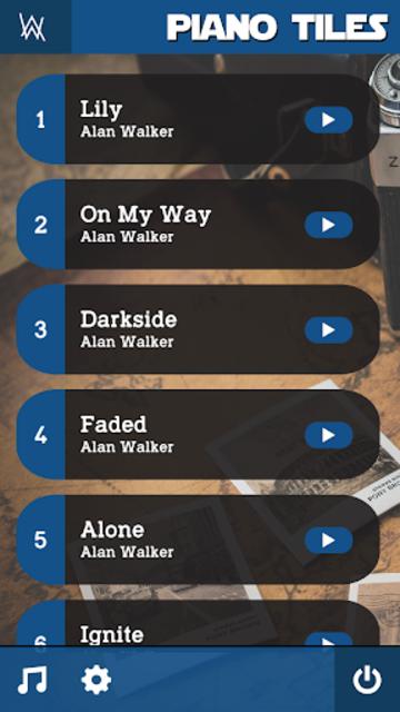 Alan Walker Piano Tiles Music Game screenshot 2