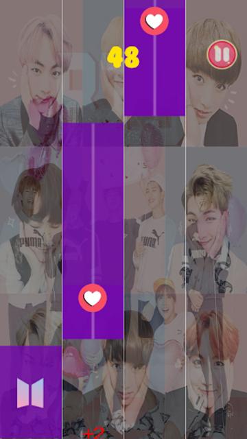 BTS Piano Tiles KPOP 2019 screenshot 1