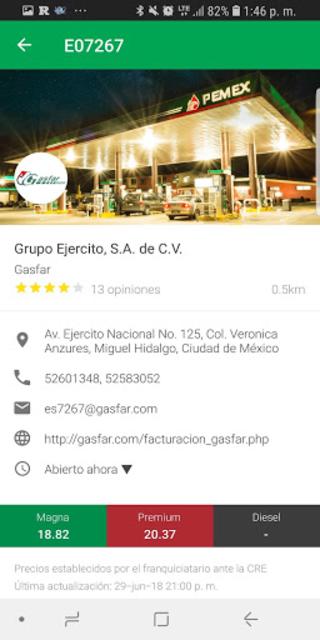Guía Pemex • Find your station screenshot 4