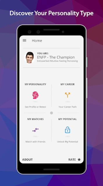 PersonalityMatch - Personality Test and Matching screenshot 1