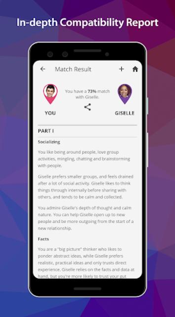 PersonalityMatch - Personality Test and Matching screenshot 6