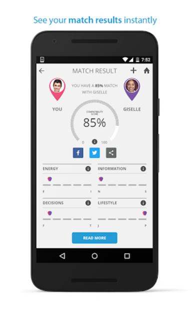 PersonalityMatch - Personality Test and Matching screenshot 5