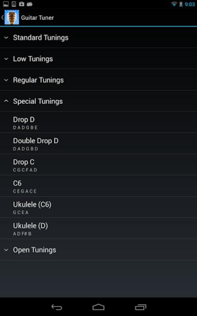 GuiTune - Guitar Tuner! screenshot 4