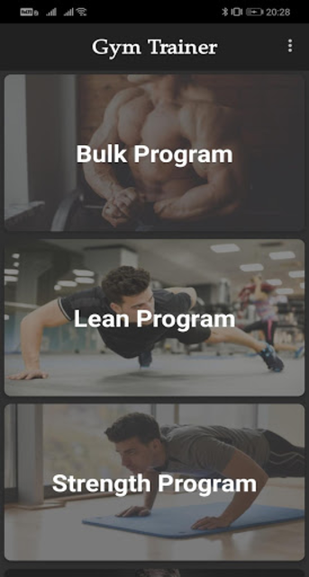 Gym Trainer Pro screenshot 1