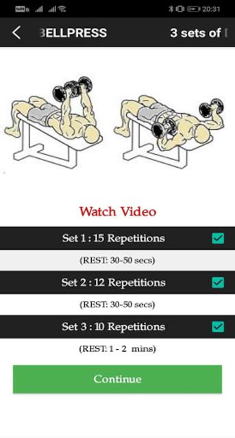 Gym Trainer Pro screenshot 5