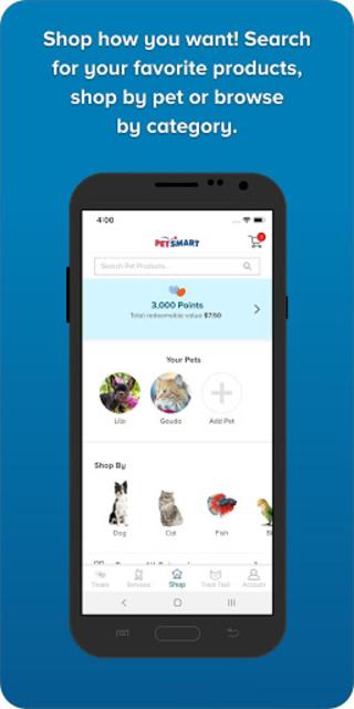 PetSmart screenshot 1