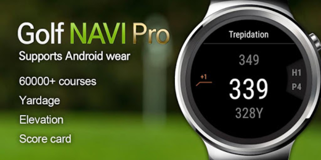 GOLF NAVI PRO screenshot 1
