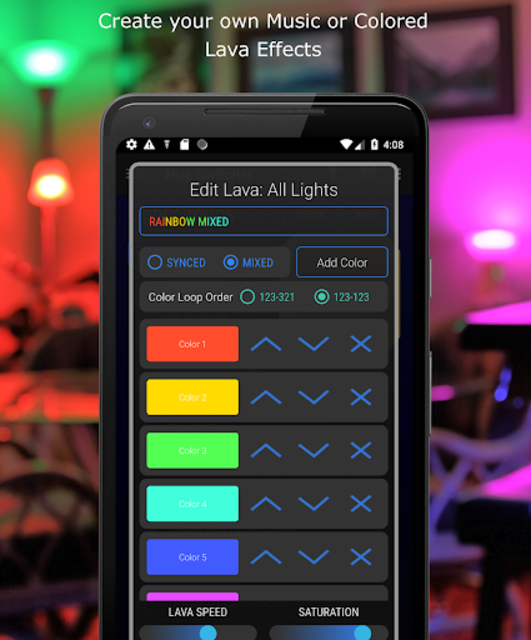 Hue Switcher for Philips Hue Systems screenshot 3
