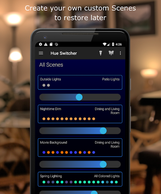 Hue Switcher for Philips Hue Systems screenshot 4