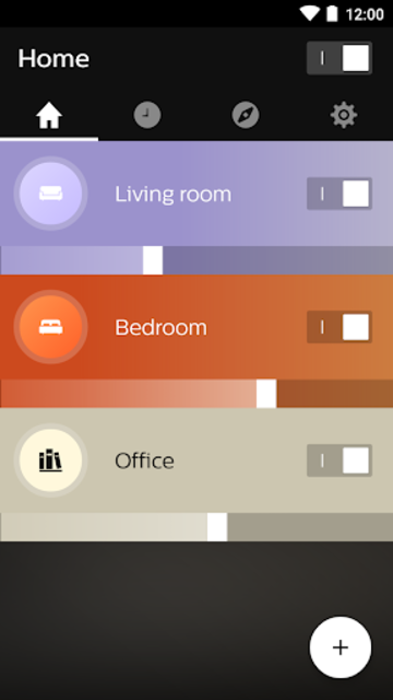Philips Hue screenshot 1