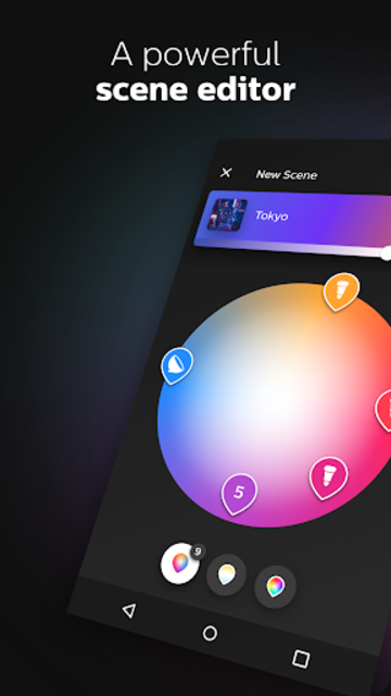 Philips Hue screenshot 4