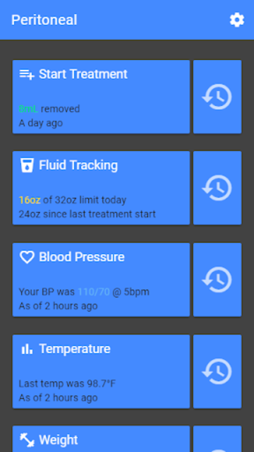 D-Track - Dialysis Tracker screenshot 1