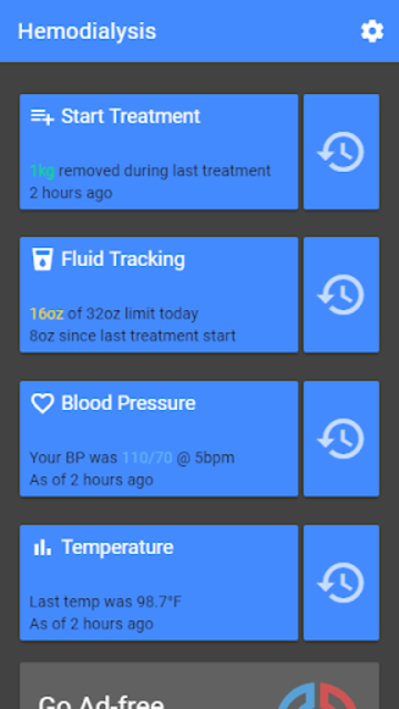 D-Track - Dialysis Tracker screenshot 2
