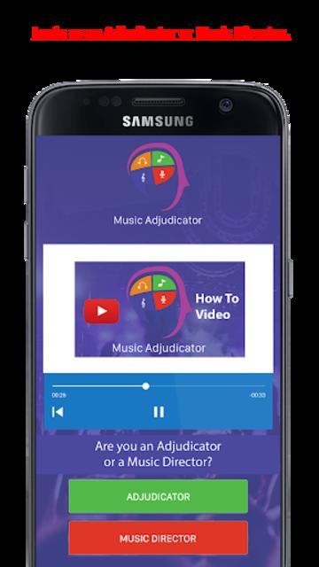 Music Adjudicator screenshot 1