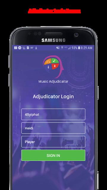 Music Adjudicator screenshot 2