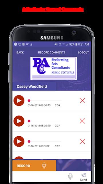 Music Adjudicator screenshot 4