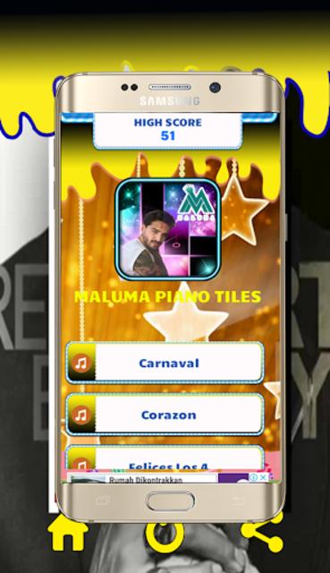 Maluma Piano Tiles screenshot 1