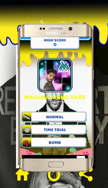 Maluma Piano Tiles screenshot 2