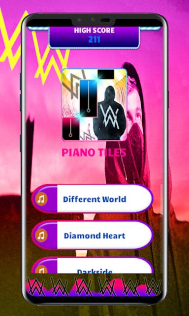 Alan Walker Piano Tiles screenshot 1