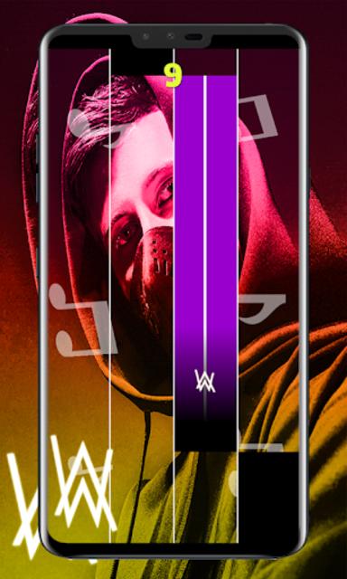 Alan Walker Piano Tiles screenshot 2