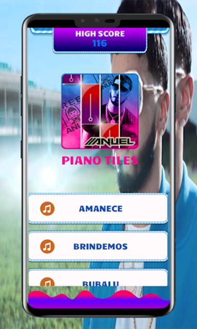 Anuel AA Piano Tiles screenshot 1