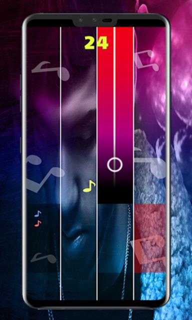Anuel AA Piano Tiles screenshot 2