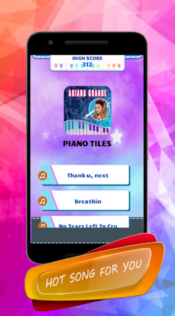 Ariana Grande - Piano Tiles screenshot 1