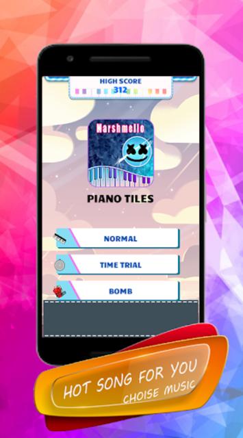 Marshmello - Piano Tiles screenshot 2