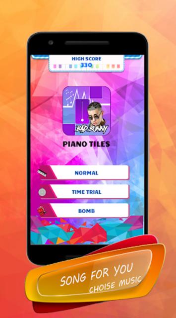 Bad Bunny - Piano Tiles Song screenshot 2