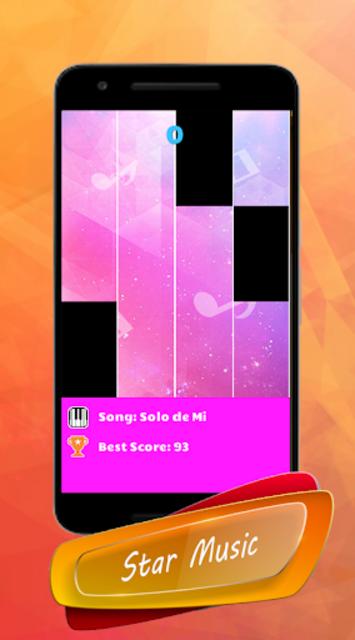 Bad Bunny - Piano Tiles Song screenshot 3