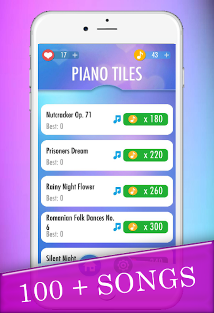 Piano Tiles Game screenshot 1