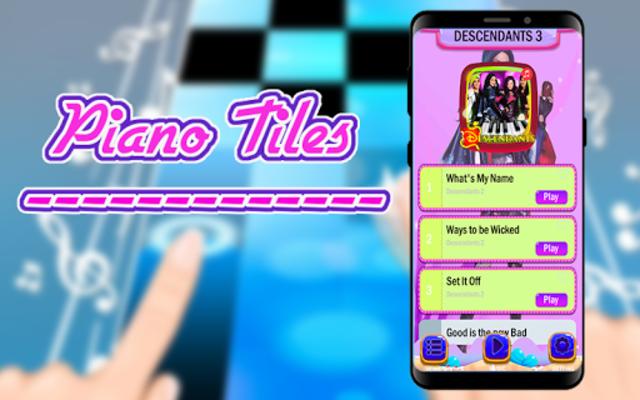 FREE DESCENDANTS 3 PIANO GAME TILES screenshot 1