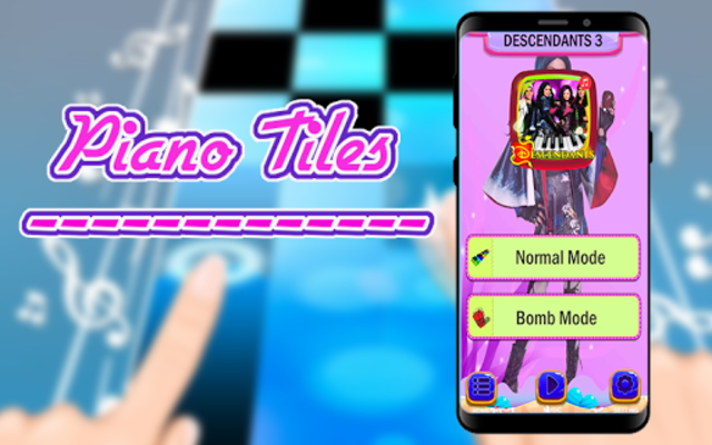 FREE DESCENDANTS 3 PIANO GAME TILES screenshot 2