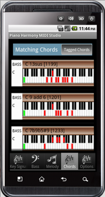 Piano Harmony MIDI Studio Pro screenshot 2