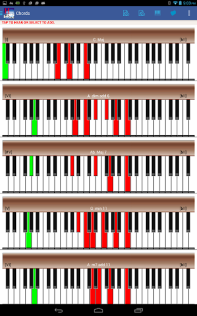 Piano Harmony MIDI Studio Pro screenshot 4