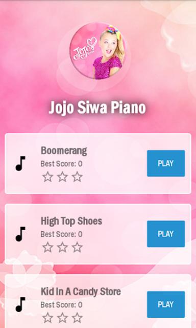 Jojo siwa Piano screenshot 4