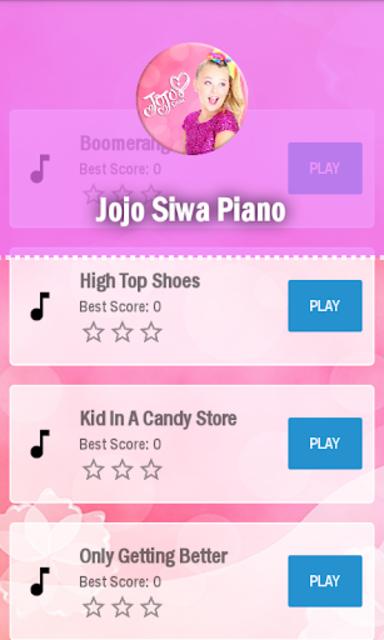Jojo siwa Piano screenshot 5