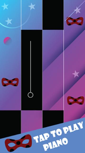 Piano Miraculous Chat Noir Tiles screenshot 1