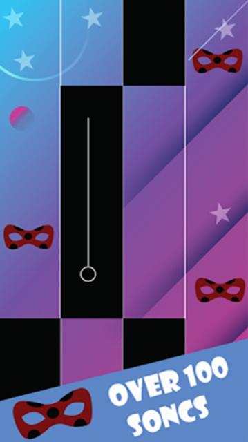 Piano Miraculous Chat Noir Tiles screenshot 2
