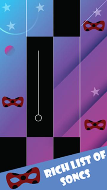 Piano Miraculous Chat Noir Tiles screenshot 3