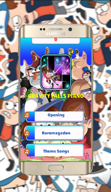 GravityFalls Piano Tiles screenshot 1