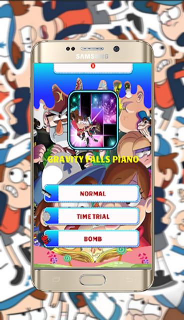 GravityFalls Piano Tiles screenshot 2