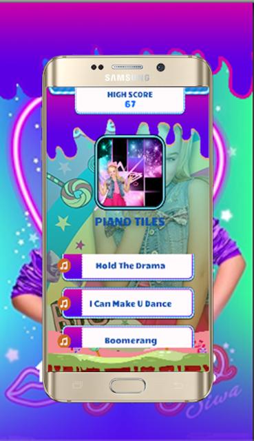 Jojo siwa Piano Tiles screenshot 1