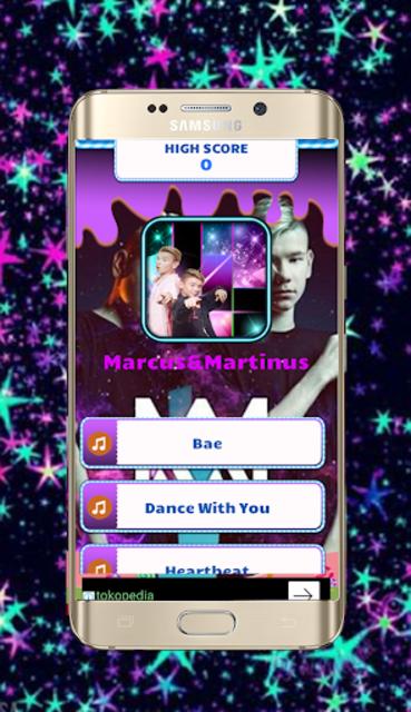 Marcus and Martinus Piano Tiles screenshot 1