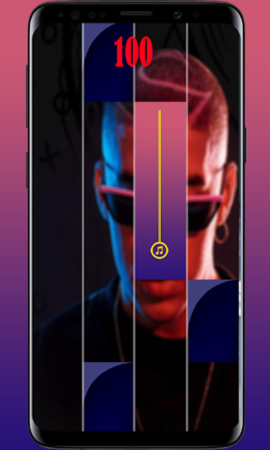 Bad Bunny  Piano tiles game 🎹 screenshot 2