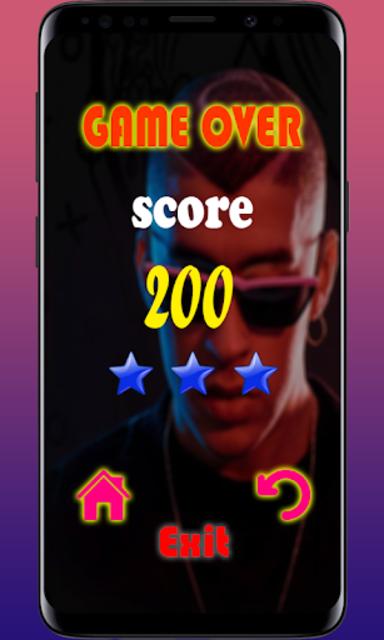 Bad Bunny  Piano tiles game 🎹 screenshot 4