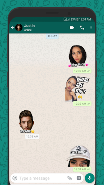Wemoji - WhatsApp Sticker Maker screenshot 1