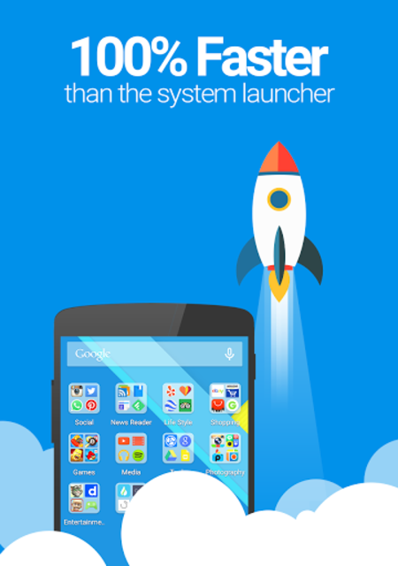 Picoo Launcher - Speed & Light screenshot 2
