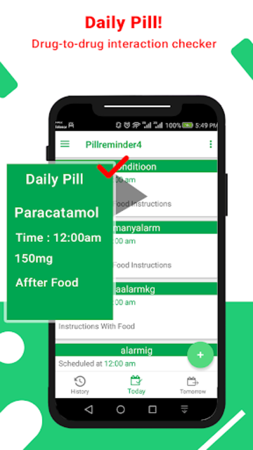 Pill Reminder- Free Medicine Reminder screenshot 2
